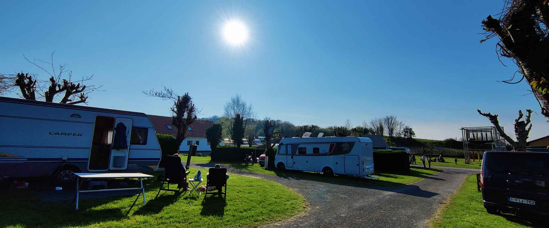 emplacement camping wissant cote opale