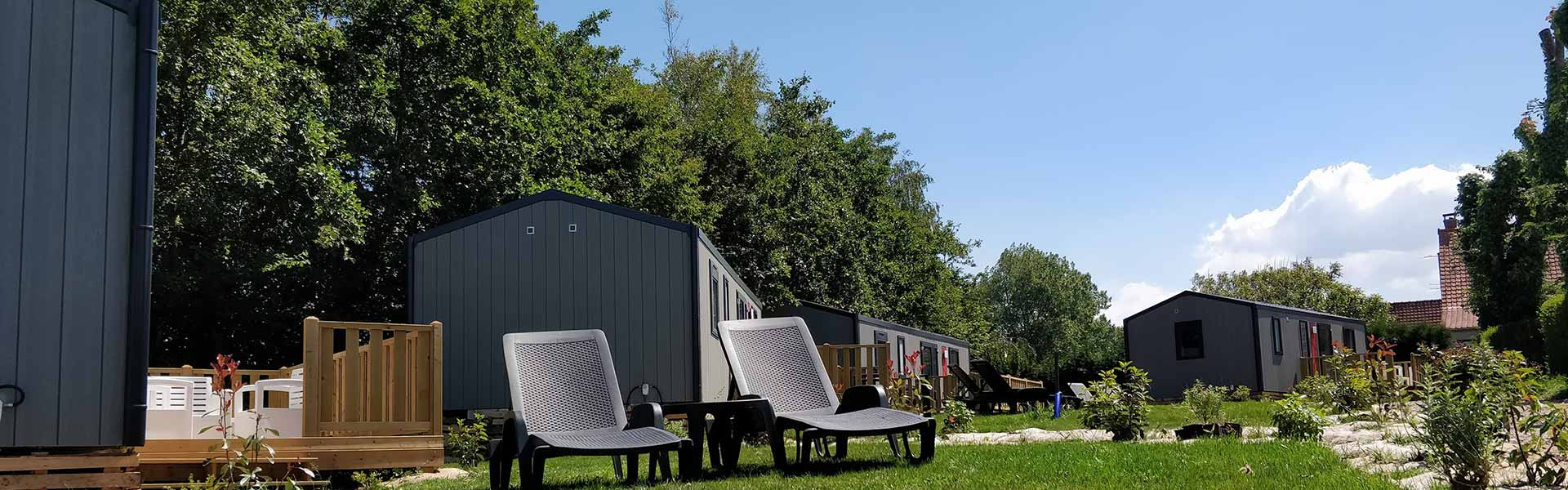 mobil home camping wissant plage